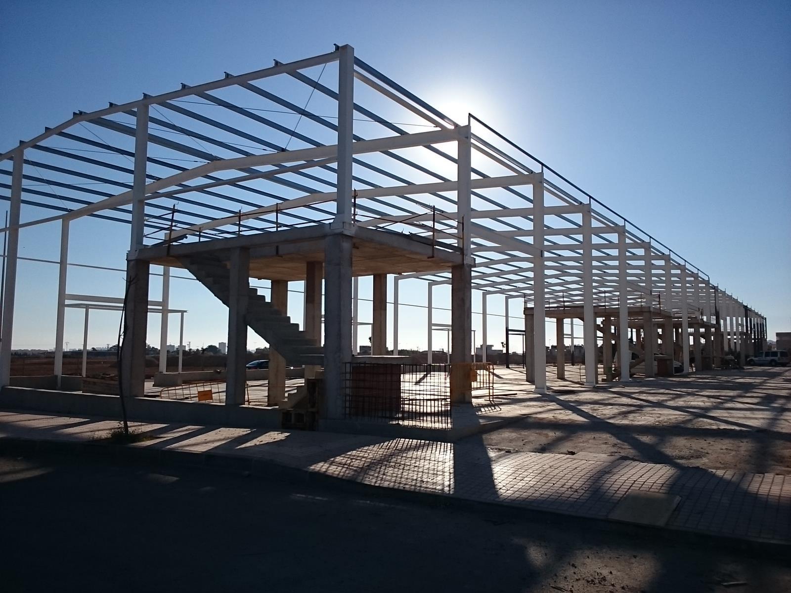 Proyecto 39 llave en mano 39 nave industrial m2 - Fotos de construcciones metalicas ...